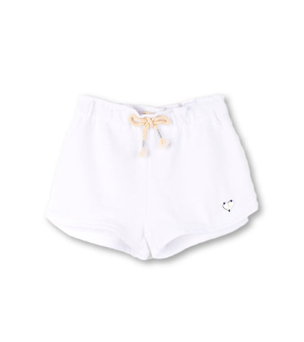Hatley White French Terry Adventure Short