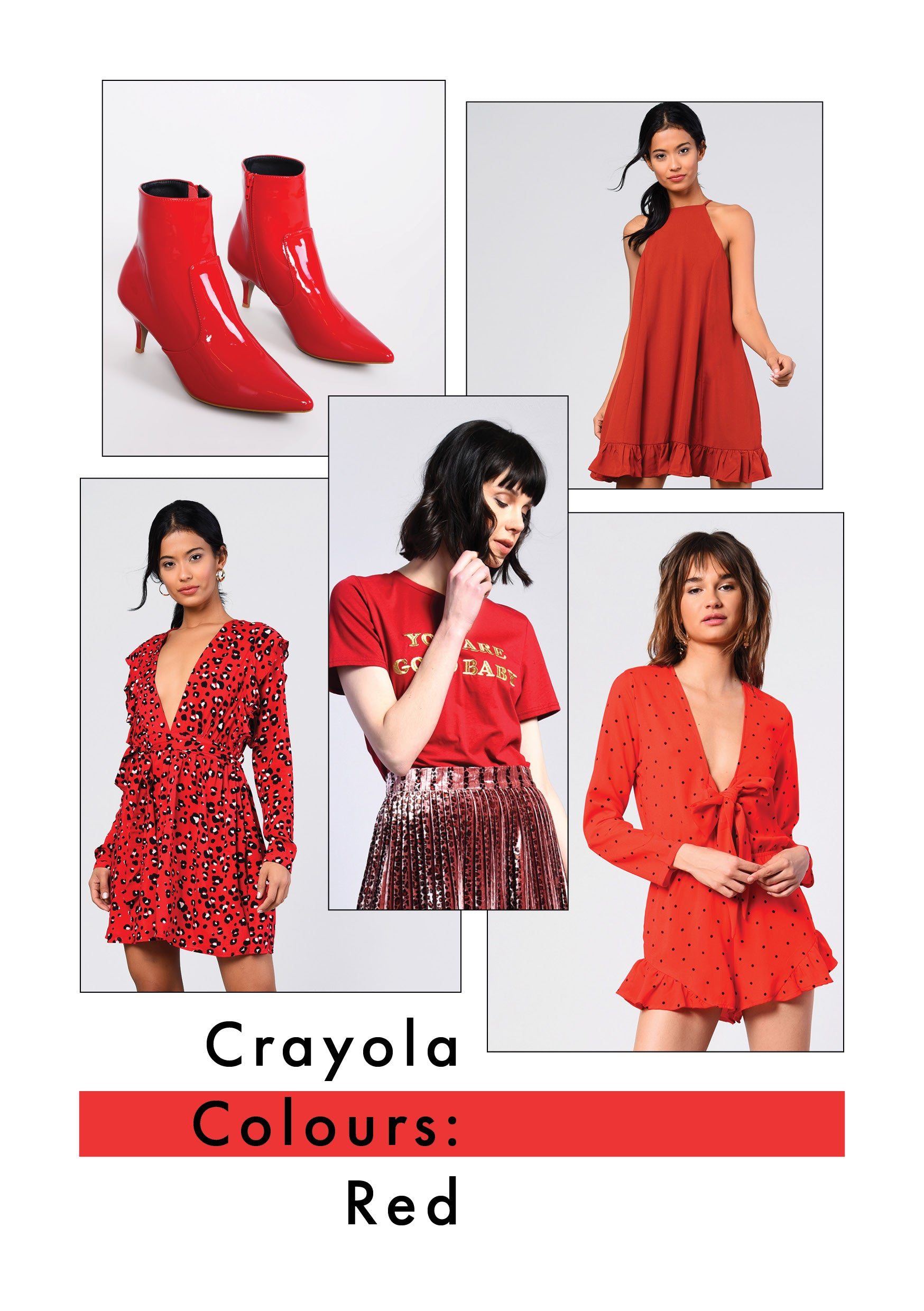 CRAYOLA COLOUR: RED