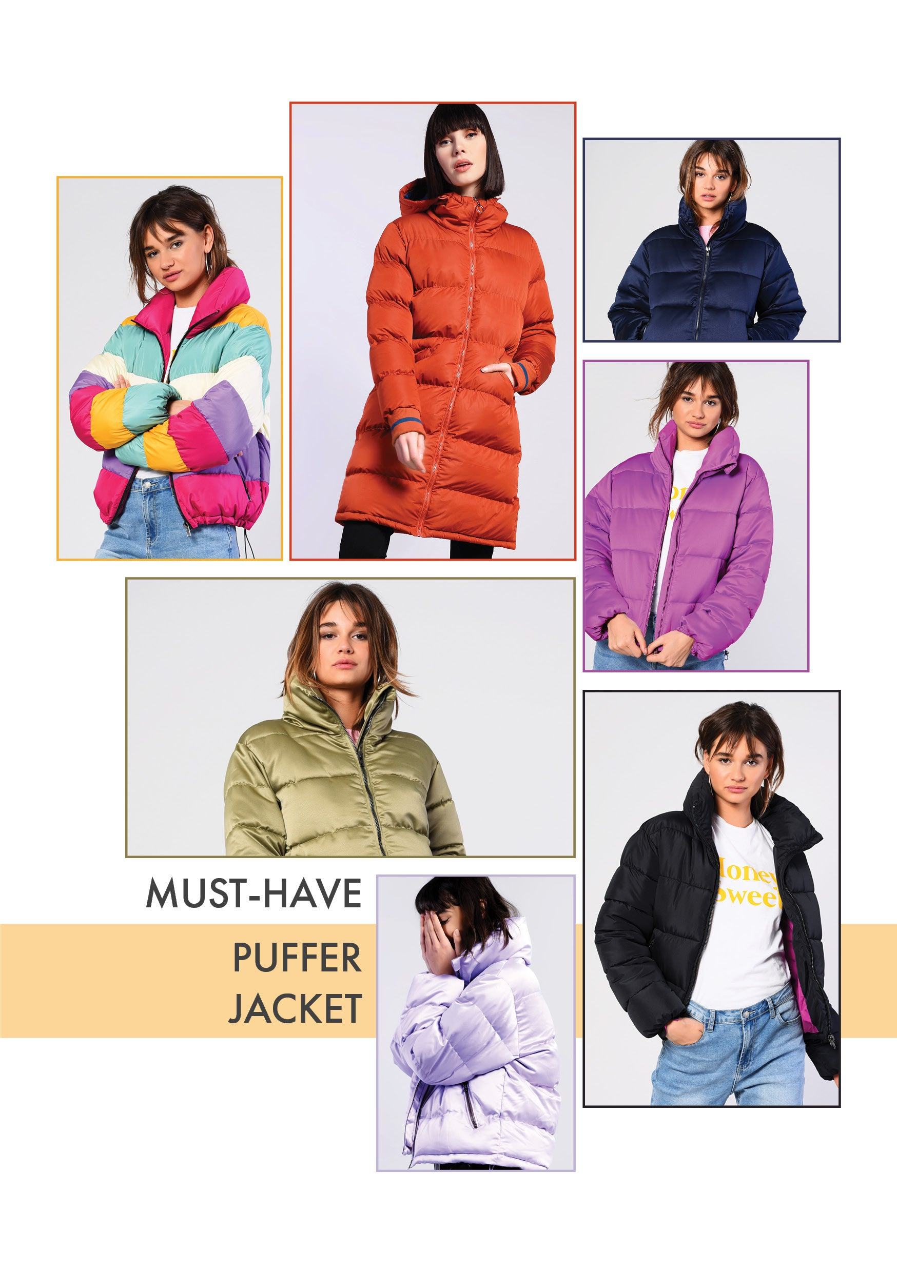 MUST HAVE PUFFER JACKET