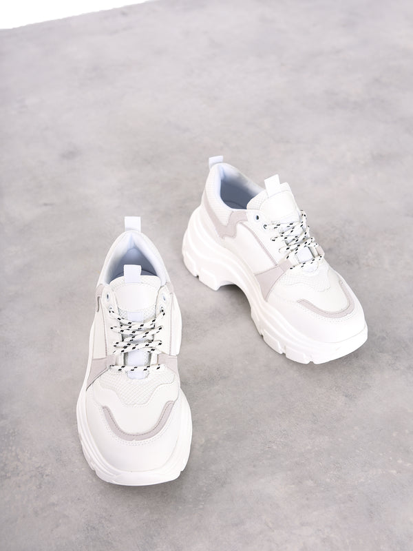 White Multi Trainers