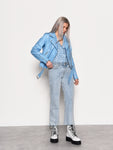 Blue Croc PU Jacket