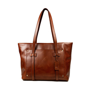 Load image into Gallery viewer, Aubrey Leather Tote Bag