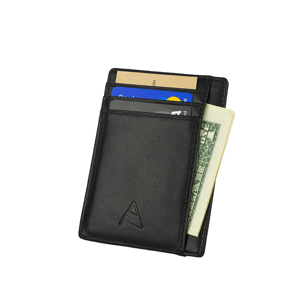 Load image into Gallery viewer, Algent Ultra Slim Card Holder - Black