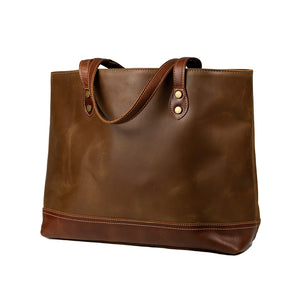 Load image into Gallery viewer, Percy Leather Tote Bag