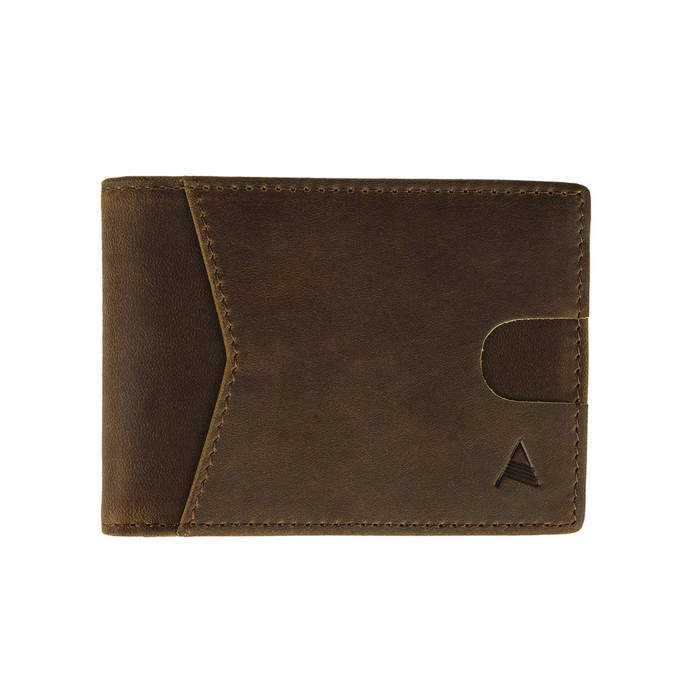ALGENT Bifold Wallet - Coffee
