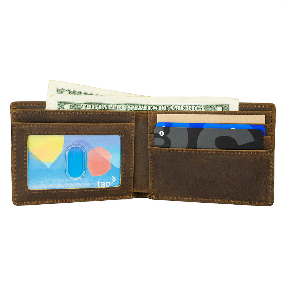 Load image into Gallery viewer, ALGENT Bifold Wallet - Coffee