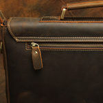 Birmingham Briefcase - Dark Brown