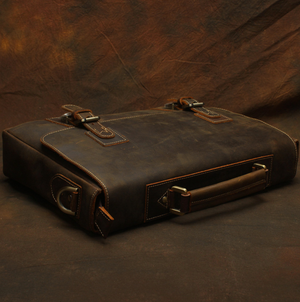 Load image into Gallery viewer, Birmingham Briefcase - Dark Brown