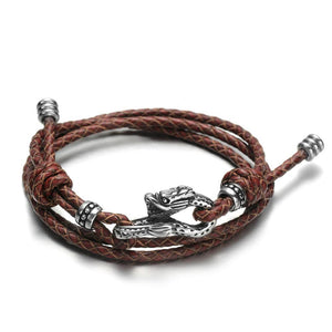 Load image into Gallery viewer, Draco Leather Bracelet - Dacian / Small