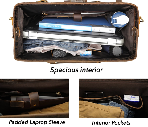 Load image into Gallery viewer, Holdall Duffel Bag - Umber