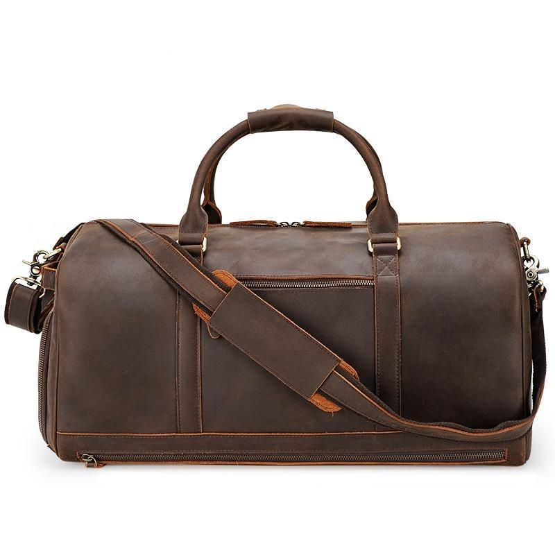 Jefferson Duffle Bag - Brown