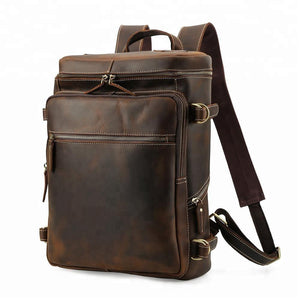 Load image into Gallery viewer, Kingston Backpack - Dark brown / 15.6 inches