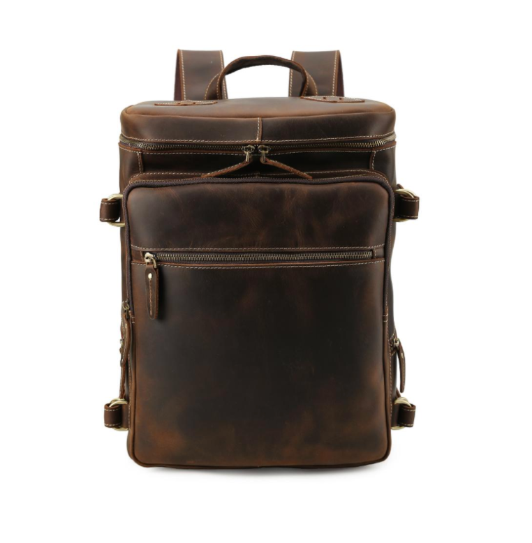 Kingston Backpack - Dark brown / 15.6 inches