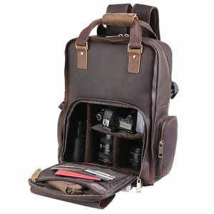 Load image into Gallery viewer, Lamai Camera Backpack - Brown