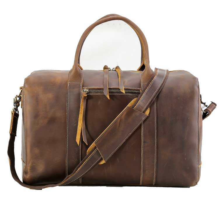 Weekender Duffle Bag - Dark Brown