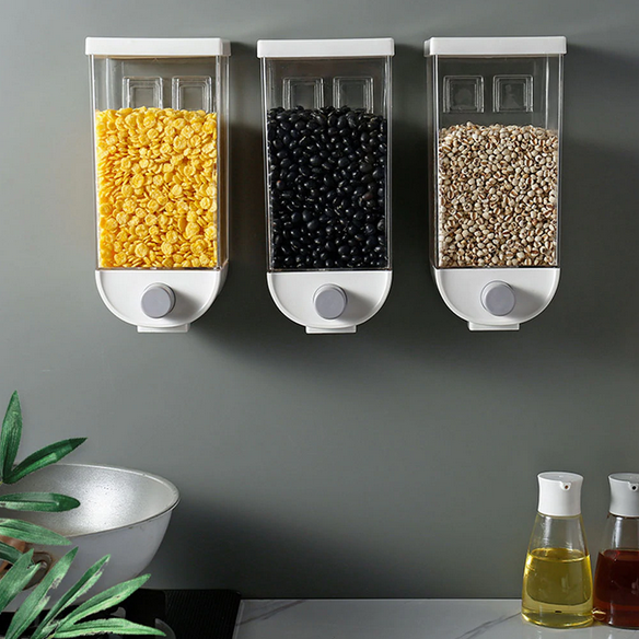 Wall Grain Containers