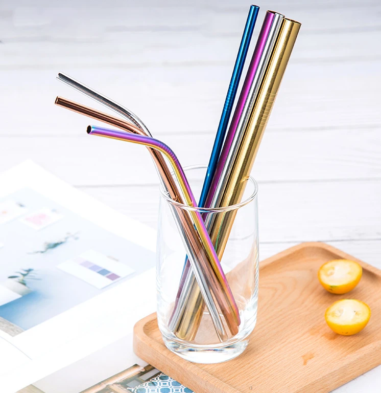 Eco Friendly Reusable Straw Set