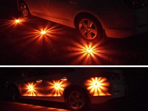 LED Road Flares Flashing Warning Light
