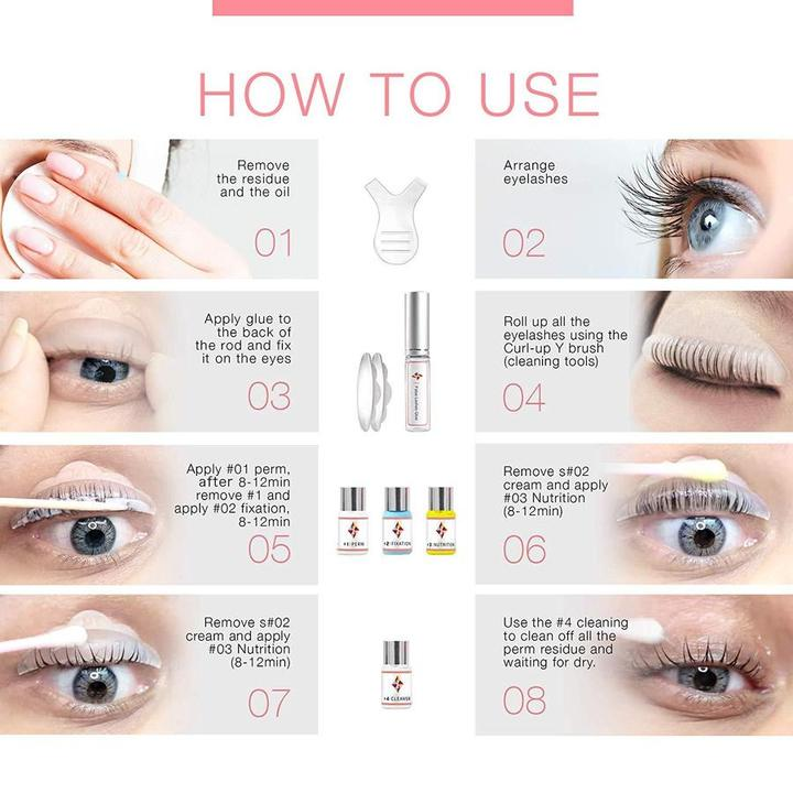 LashLift - Eyelash Perming Kit