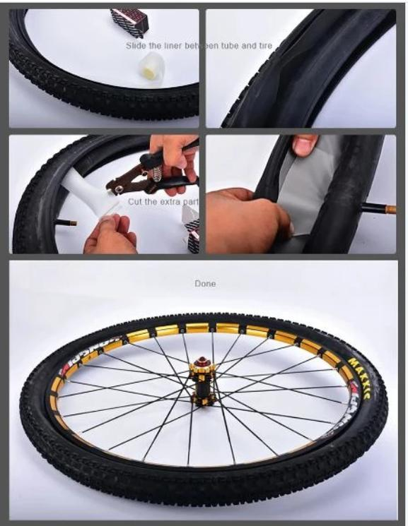 Bicycle Inner Tubes Explosion-Proof Lining Tire Pad