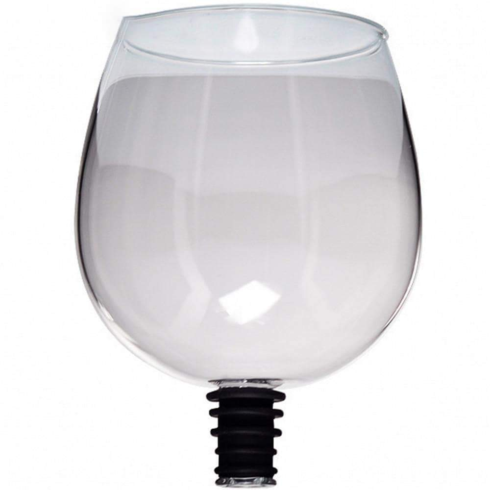 Bottoms Up™ Glass Wine Attachment