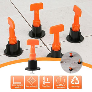 All NEW Ezi- Reusable Tile Leveling System (50Pcs)