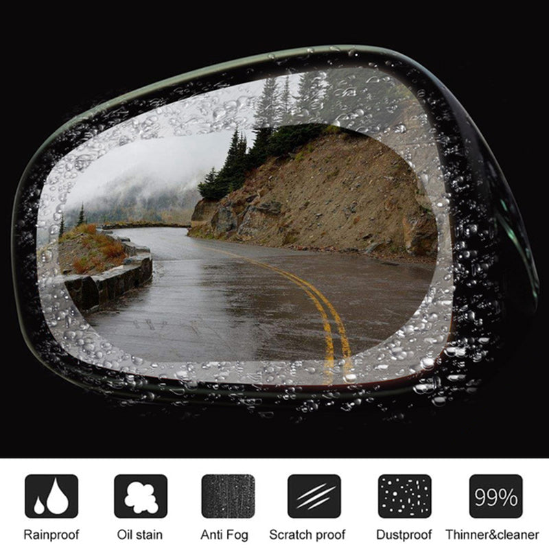 Anti-Fog Glass Sticker(2pcs)