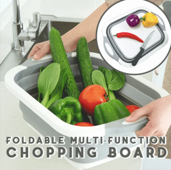 3-in-1 Multi-Function Cutting Board