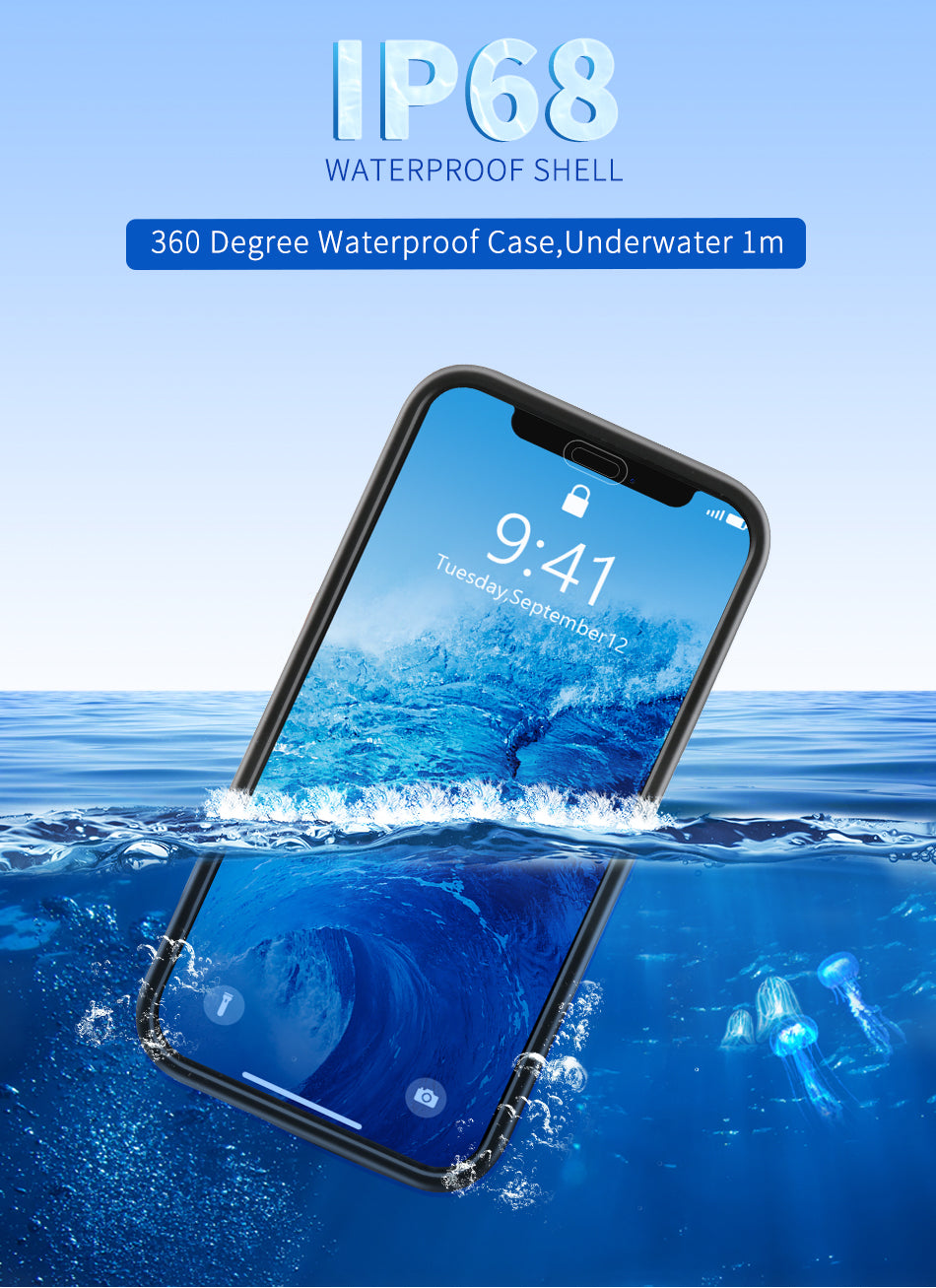 Water-Proof & Shock-Proof Phone Case