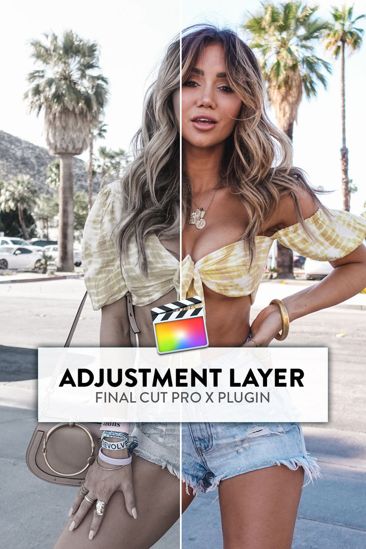 Adjustment Layer for Final Cut Pro