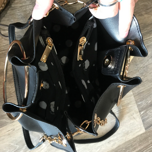 Chelses Black Handbag