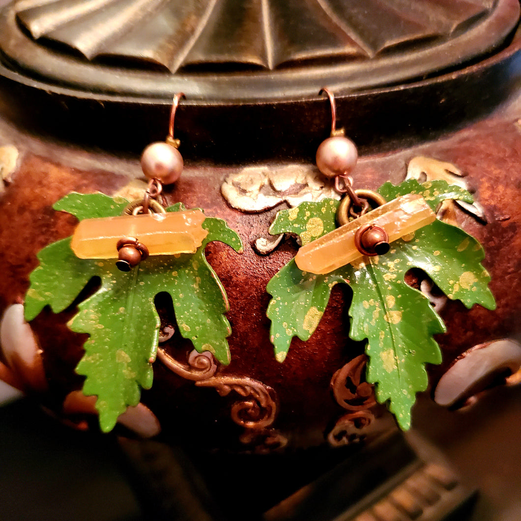 Forest Walk Earrings by Treska