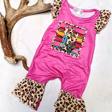 Load image into Gallery viewer, Leopard & Cactus Romper