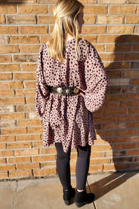 Yanni Leopard Dress