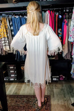 Load image into Gallery viewer, Sweetie Cream Tunic Dress