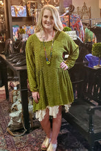 Load image into Gallery viewer, Green Goddess Tunic Top