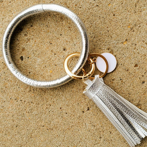 O Tassel Key Ring