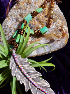Warrior Princess Feather Necklace