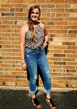 Load image into Gallery viewer, Brecklyn Mid Rise Cuffed Jeans
