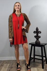 Red Tunic Dress