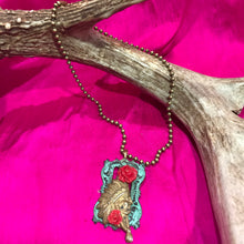Load image into Gallery viewer, Antiqued Indian Head Necklace