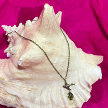 Load image into Gallery viewer, Dove Pendant with Sage Crystal Necklace by Robin Goodfellow