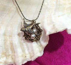 Dove Nest Necklace by Robin Goodfellow