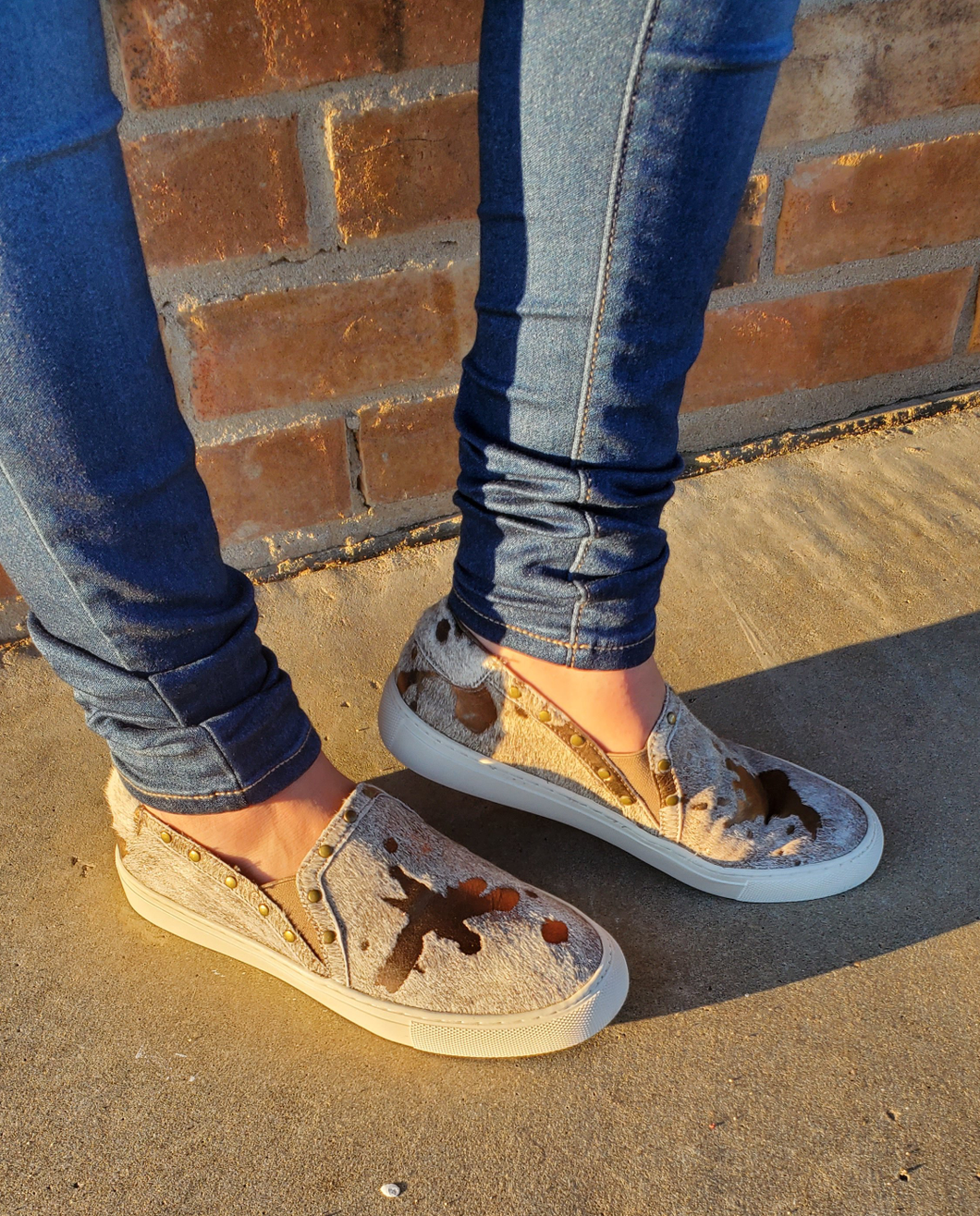 Bronze Beauty Slip Ons