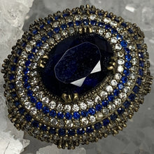 Load image into Gallery viewer, Brilliant Blue Bling Ring