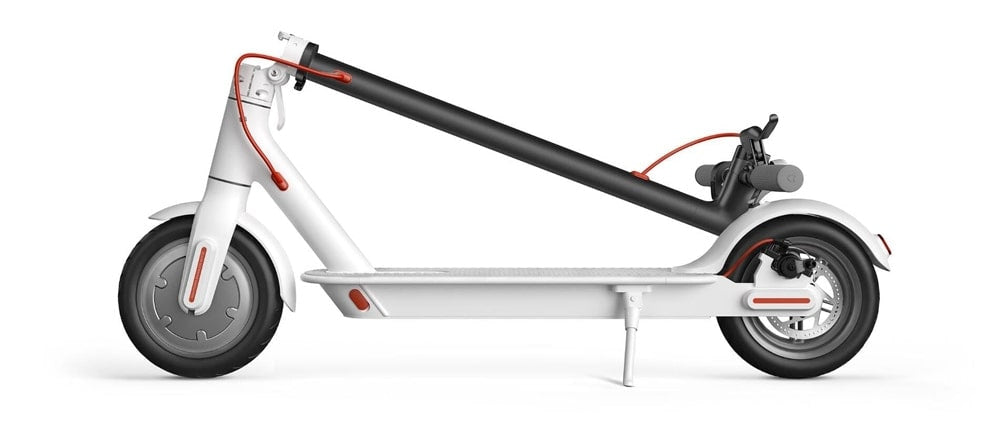White Folding Electric Scooter