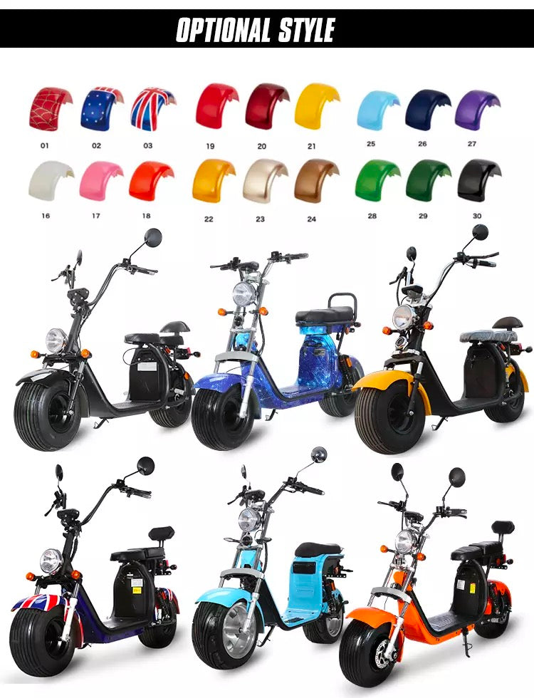 Citycoco Scooter Color