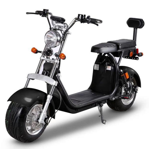 fat tire scooter with seat