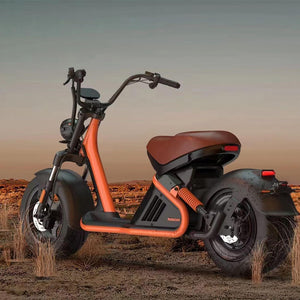 Copy of Motorcycle Golf Cart, Single Rider Golf Scooter 3000W M9 - CITI ESCOOTER
