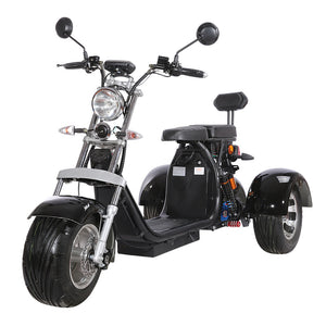 Trike scooter Harley electric scooter factory, 2000W 55km/h EEC/COC certified - Fanco Electric Scooter manufacturer